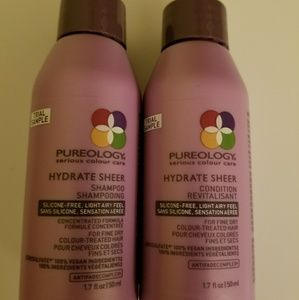 Pureology Hydrate Sheer Travel shampoo conditioner
